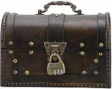 Boîte de rangement de porte-bijoux Vintage belle