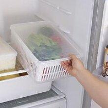 Boîte de rangement de réfrigérateur de cuisine