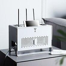 Boîte de rangement de routeur Wifi de bureau,