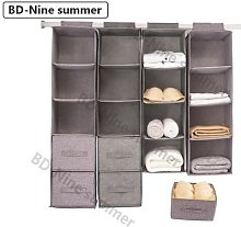 Boîte de rangement de vêtements suspendus,