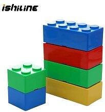 Boîte de rangement empilable pour blocs de