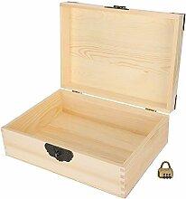 Boîte de rangement en bois pratique à la mode