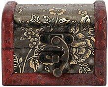 Boîte de rangement en bois, Style Vintage Boîte