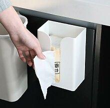Boîte de rangement en papier cuisine, boîte à
