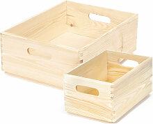 Boîte de rangement - Lot de 2