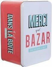 Boîte De Rangement -ma Boîte à Bazar- 30cm Rose