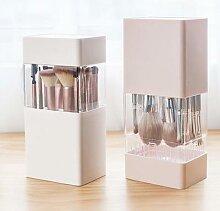 Boîte de rangement multifonction pour maquillage,