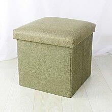 Boîte de rangement ottoman multifonction -