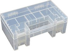 Boîte de Rangement Plastique Transparente pour