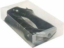 Boîte de rangement pour bottes - transparent