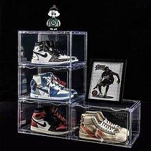 Boîte de rangement transparente pour chaussures