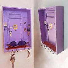 Boîte porte-clé de porte des amis, porte-clé de