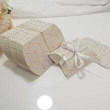 Boîtes d'emballage cadeaux en forme