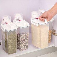 Boîtes de conservation hermétiques transparentes