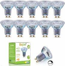 Bojim Ampoules LED GU10 Dimmable, 8.5W Équivaut