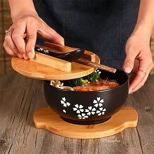 Bol à nouilles de riz de Style japonais, avec