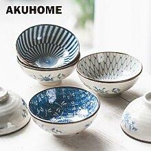 Bol à riz en céramique de Style japonais, bol à