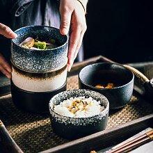 Bol à riz japonais créatif simple petit bol à