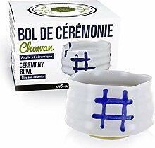 Bol de cérémonie japonais Chawan - Blanc