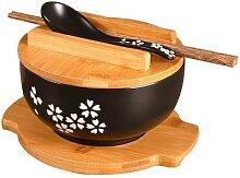 Bol de riz en céramique de Style japonais, bol de