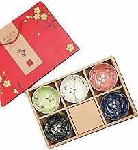 Bol de riz japonais chinois en céramique pour