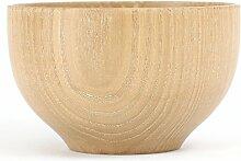 Bol de riz japonais traditionnel fabriqué à