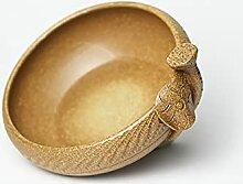 Bol En Céramique De Céramique De Lotus De Style