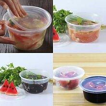 Bol en plastique jetable, 10 pièces, bol de soupe