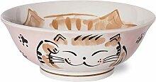 Bol japonais à rameau, céramique Mino-Yaki,