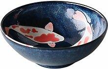 Bol japonais Mino-yaki en céramique, taille XL
