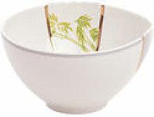 Bol Kintsugi / Porcelaine & or fin - Seletti blanc
