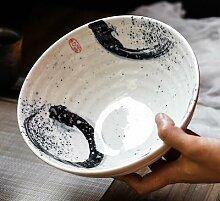 Bol ramen en en céramique de style japonais, bol