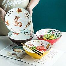Bol ramen en en céramique japonais, joli mélange