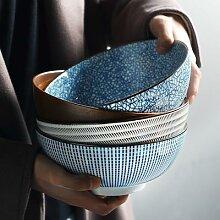 Bol Ramen japonais 8 pouces, bol à nouilles en