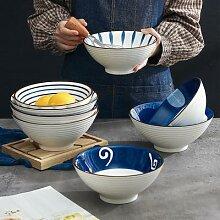 Bol Ramen japonais en céramique pour nouilles