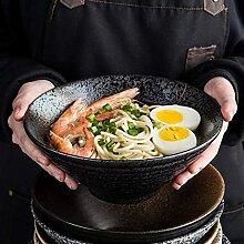 Bols et saladiers Céramique style japonais noir