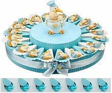 BOMBSINDY Gâteau bonbonnière pour baptême,