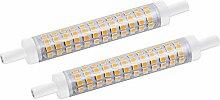 Bonlux 10W 118mm R7s Ampoule LED linéaire Blanc