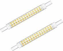 Bonlux 10W R7s 118mm ampoule led crayon projecteur