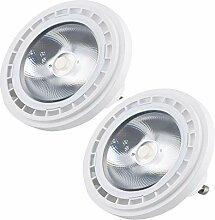 Bonlux 2-PCS 12W 220V AR111 GU10 LED Ampoule