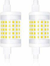Bonlux 2-PCS Dimmable 10W R7S 78mm Ampoule LED