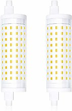 Bonlux 2-PCS Dimmable 15W R7S 118mm Ampoule LED