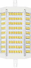Bonlux 30W R7s Dimmable 118MM ampoule led Blanc