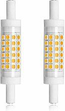 Bonlux 5W 78mm R7S Dimmable Ampoule LED linéaire