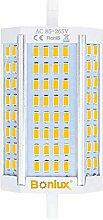 Bonlux Dimmable R7S Culot 30W 118mm Ampoule LED