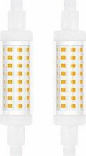 Bonlux R7s 78mm Ampoule LED, 5W Double Extrémité