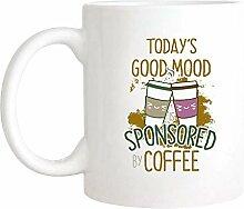 Bonne humeur tasse de café, de bonne humeur