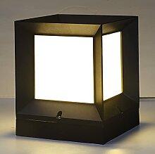 Bonnik Lampe De Colonne Rétro Extérieure