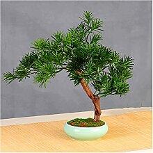 Bonsaï Artificiel Arbre d'arbre de bonsaï
