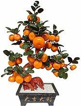 Bonsaï Artificiel Artificielle Bonsaï Orange